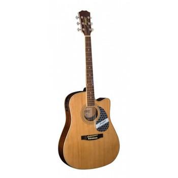 Morgan W 120 SCE akustisk gitar, natur