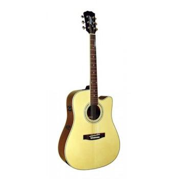 Morgan W 310 SCE akustisk gitar, natur