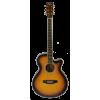 Michelsen SF-100CE akustisk gitar m/ bag, matt vintage sunburst