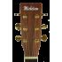 Michelsen SF-100CE akustisk gitar m/ bag, matt natur