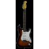 Michelsen ST-100 elektrisk gitarpakke, m/ bag + tuner, sunburst / rosentre gripebrett