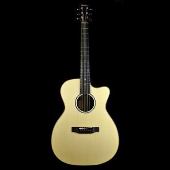 Michelsen OMT-500SSCE thinline akustisk gitar m/ kasse, matt natur